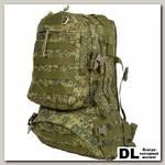 Тактический рюкзак Polar П104 Камуфляж Цифровая флора