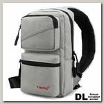 Однолямочный рюкзак Tigernu T-S8050 9,6' (серый)