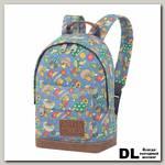 Детский рюкзак Asgard Р-5414 Грибы синий