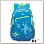Школьный рюкзак BRAUBERG Big Лазурь