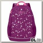 Рюкзак школьный Grizzly RG-063-3 Фиолетовый