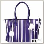 Сумка OrsOro DW-860 Фиолетовый с белым