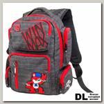 Рюкзак WINmax К-544 Черно-красный