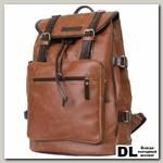 Кожаный рюкзак Carlo Gattini Volturno cognac/brown