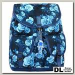 Рюкзак Bagland Amy 16 л Синий с цветами