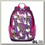 Рюкзак школьный Grizzly RG-063-1 Фиолетовый