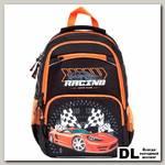 Школьный рюкзак Orange Bear V-54 Racing черный/оранжевый