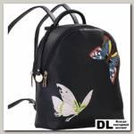 Рюкзак-сумка Pola Бабочки 64448 Черный
