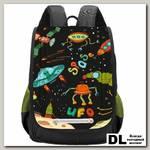 Рюкзак школьный Grizzly RAk-091-1 Чёрный