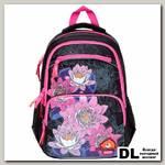 Школьный рюкзак Orange Bear V-51 Flowers черный