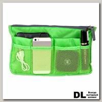 Органайзер для сумки Wanna be a traveler зеленый