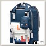 Рюкзак Mr. Ace Homme MR19C1772B01 Тёмно-синий/белый