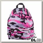 Молодёжный рюкзак BRAUBERG Сити-формат Камуфляж Розовый