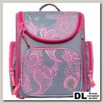 Ранец школьный Orange Bear SI-16 Classic Серый/розовый