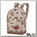 Мини рюкзак Asgard КотыПолосатые корич Р-5424