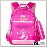 Школьный рюкзак Merlin A8251 Малиновый