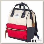 Рюкзак-сумка Polar 17198 синий/белый/красный