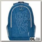 Рюкзак Grizzly RU-934-7 Джинсовый