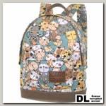 Мини рюкзак Asgard Коты бирюзовые Р-5424