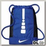Баскетбольный рюкзак Men's Nike Hoops Elite Basketball Gym Sack Синий