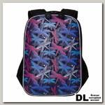 Рюкзак школьный Grizzly RG-969-3 Тёмно-синий