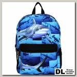 Рюкзак Mojo Pax Sharks синий