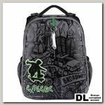 Ранец Mike&Mar Экстрим (черный/серый/зеленый)