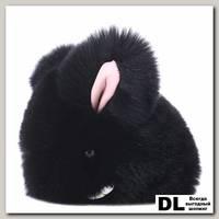 Брелок мини кролик (черный)