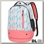 Школьный рюкзак Sun eight SE-APS-5004 Белый/Розовый