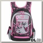 Школьный рюкзак Across Flowers & Butterfly AC18-CH3-2