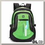 Школьный рюкзак BRAUBERG 30L Лайм Чёрный