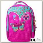 Школьный рюкзак Across Butterfly Pink 179-1