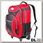 Школьный рюкзак на колесах Polar П382 Красный