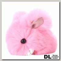 Брелок мини кролик (розовый)