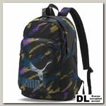 Рюкзак Puma Originals Backpack Чёрный/Серебро