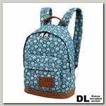 Детский рюкзак Asgard Р-5414 ДжинсЦветочки голубой