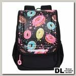 Рюкзак школьный Grizzly RAk-090-3 Чёрный