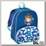Рюкзак с мягкой спинкой Lovely Girl (синий)