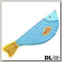 Пенал 'Рыбка' (голубой с желтым)