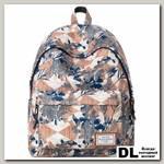 Рюкзак Mr. Ace Homme MR17B0633B01 бежевый/коричневый/синий