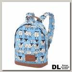 Детский рюкзак Asgard Р-5414 Овечки голубой