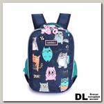 Рюкзак школьный Grizzly RG-969-2 Тёмно-синий