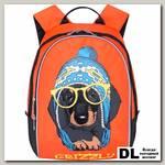 Детский рюкзак Grizzly Dog with glasses Orange Rs-764-4
