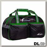 Спортивная сумка Polar П05/6 Черный (зеленый кант)