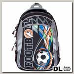 Школьный рюкзак Orange Bear V-57 Soccer серый