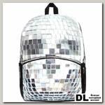 Рюкзак Mojo Pax Disco Scull серебро