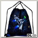 Мешок для обуви DeLune Space Ship S-145