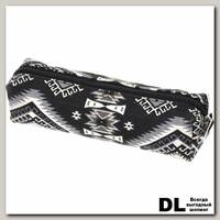 Пенал СкандиКристал черно-серый С-5510