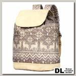 Рюкзак NOSIMOE 001D Олени-беж-кз