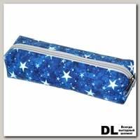 Пенал Звезды синие-серые С-5110